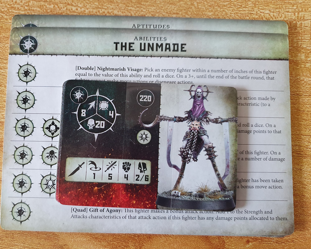 Warcry The Unmade Cards