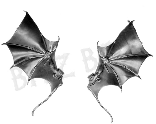 Dark Eldar Scourges Wings - Bat