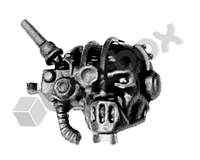 Cult Mechanicus Kataphron Breachers Head C
