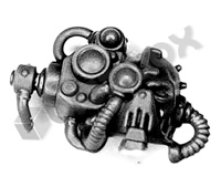 Cult Mechanicus Kataphron Destroyers Head C