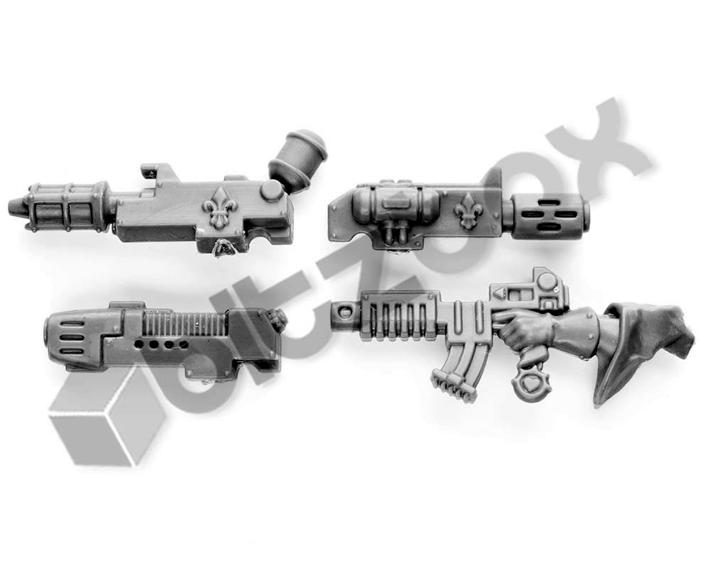 Adepta Sororitas Retributors Weapons and Accessories bits