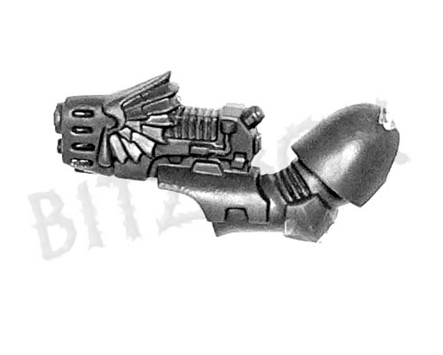 Blood Angels Sanguinary Guard Plasma Pistol