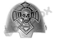 Blood Angels Terminator Shoulder Pad A