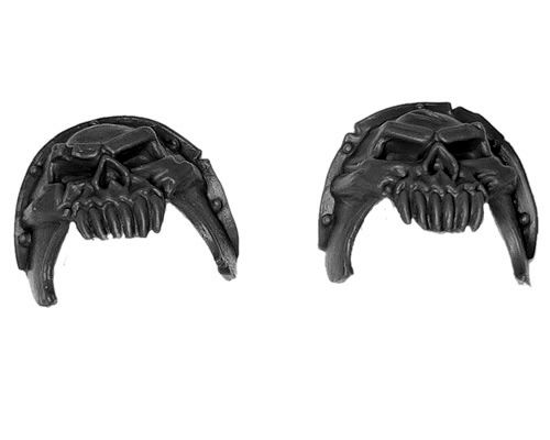 Warriors of Chaos Knights Shoulder Pads D
