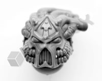 Chaos Space Marine Havocs Head A