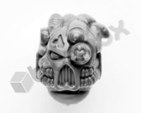 Chaos Space Marine Havocs Head C