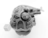 Chaos Space Marine Havocs Head D