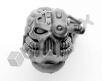 Chaos Space Marine Havocs Head E