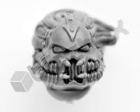Chaos Space Marine Havocs Head I