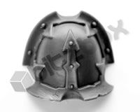 Chaos Space Marine Havocs Shoulder Pad E