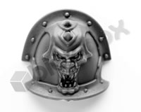 Chaos Space Marine Havocs Shoulder Pad G