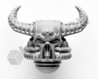 Chaos Space Marines Head E