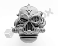 Chaos Space Marines Head I