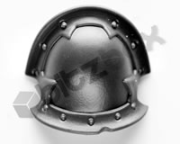 Chaos Space Marines Shoulder Pad J