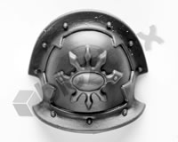 Chaos Space Marines Shoulder Pad N