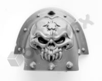 Chaos Space Marines Shoulder Pad O