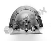 Chaos Space Marines Shoulder Pad B