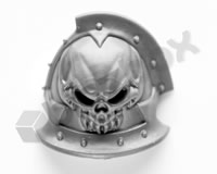 Chaos Space Marines Shoulder Pad U