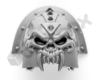 Chaos Space Marines Shoulder Pad V
