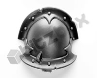Chaos Space Marines Shoulder Pad D