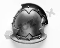 Chaos Space Marines Shoulder Pad H