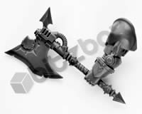 Chaos Space Marines Terminators Power Axe