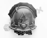 Chaos Space Marines Terminators Shoulder Pad B