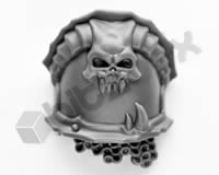 Chaos Space Marines Terminators Shoulder Pad C