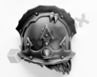 Chaos Space Marines Terminators Shoulder Pad D