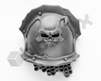 Chaos Space Marines Terminators Shoulder Pad G