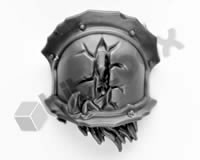 Chaos Space Marines Terminators Shoulder Pad H
