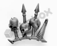 Chaos Space Marines Terminators Trophy Rack H