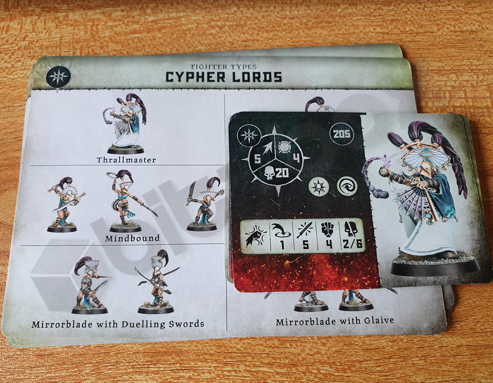 Warcry Cypher Lords Cards