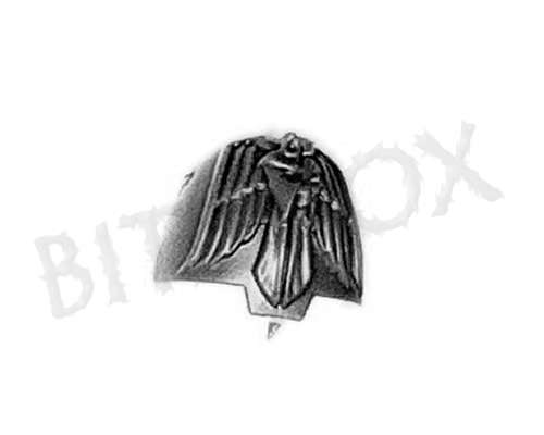 Dark Angels Deathwing Knights Shoulder Pad D