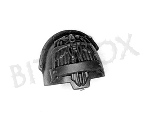 Dark Angels Deathwing Knights Shoulder Pad E