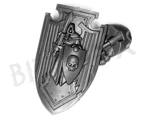 Dark Angels Deathwing Knights Storm Shield B