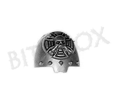 Dark Angels Deathwing Shoulder Pad D