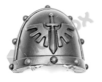 Dark Angels Chapter Upgrade Shoulder Pad A