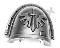 Dark Angels Chapter Upgrade Shoulder Pad F