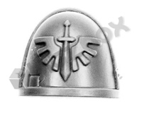 Dark Angels Chapter Upgrade Shoulder Pad H