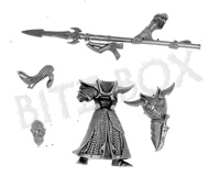 Dark Elves Scourgerunner Knight Body B
