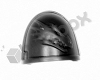 Deathwatch Veterans Chapter Shoulder Pad - Salamanders
