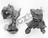 Gloomspite Gitz Squig Hoppers Rider Body B