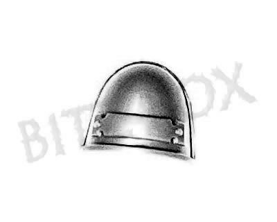 Grey Knight Strike Squad Shoulder Pad C