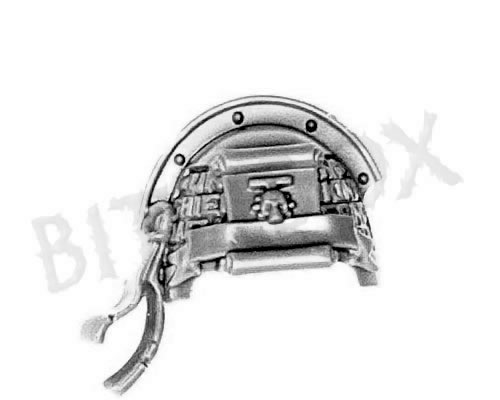Grey Knights Terminator Shoulder Pad G
