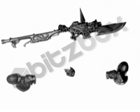 Horus Heresy Custodian Guard Guardian Spear A