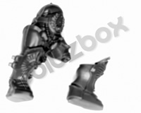 Horus Heresy Custodian Guard Legs A