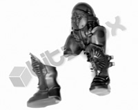 Horus Heresy Custodian Guard Legs E