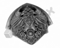 Horus Heresy Custodian Guard Shoulder Pad A