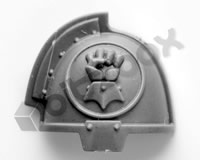 Imperial Fists Primaris Upgrade Shoulder Pad C
